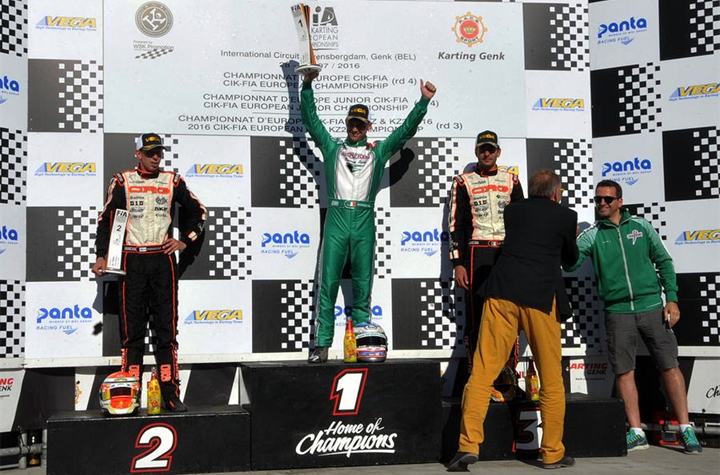 CIK-FIA European Championship OK - OKJ - KZ - KZ2 in Genk (B)