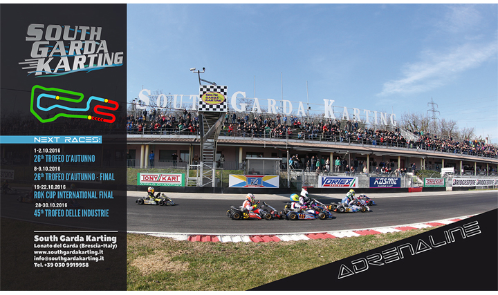 Subscriptions for the 26th Autumn Trophy at South Garda Karting of Lonato to open next September 14th