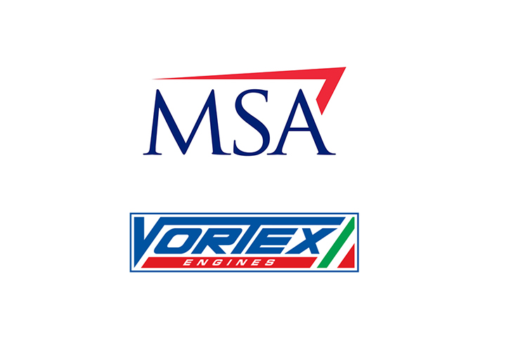 Vortex supplier of the MSA British Kart Championship until 2018