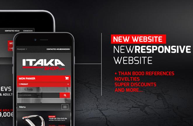 Discover the new ITAKAshop.com website