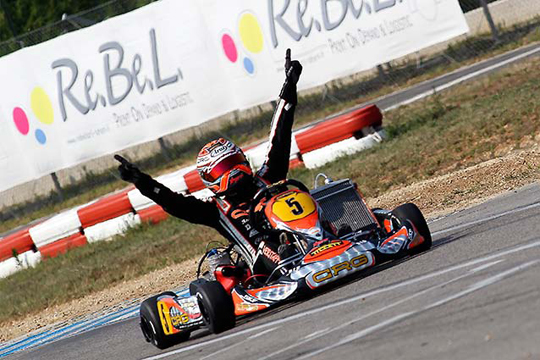 CRG and Verstappen get also the European CIK-FIA KF Championship