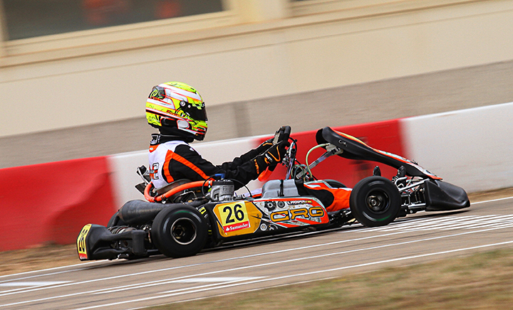 Prosperi takes the win in KZ2 on CRG-TM at the Spanish Championship in Alcaniz