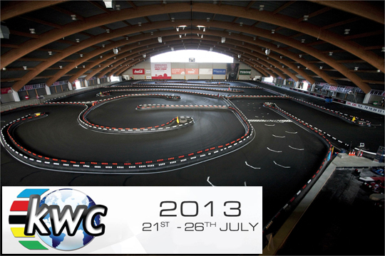 Kart World Championship at RaceHall ready to go