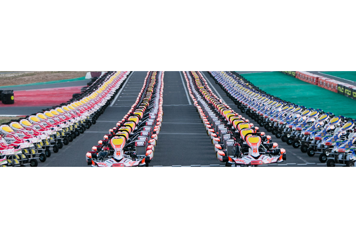 Announced the chassis partners for the Rotax MAX Challenge Grand Finals