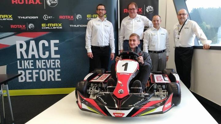 BRP-Rotax unveils its first e-kart!