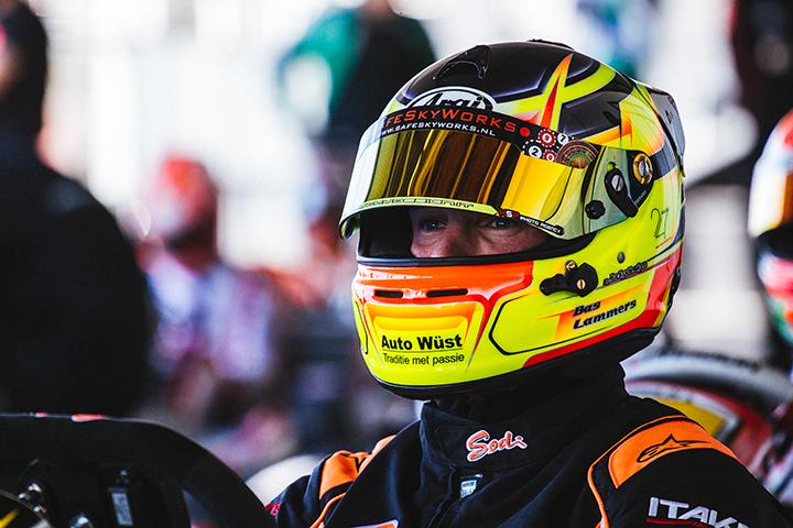 Sodi attacks the European Championship with a podium