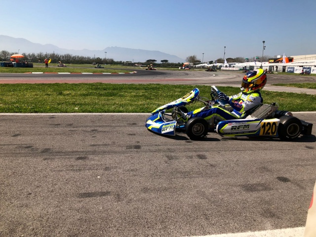 Kart Grand Prix of Italy - Saturday: Thompson dominant in OK, Aron shined in OKJ