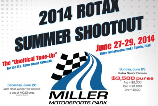Miller Motorsports Park to provide awards for Rotax Summer Shootout