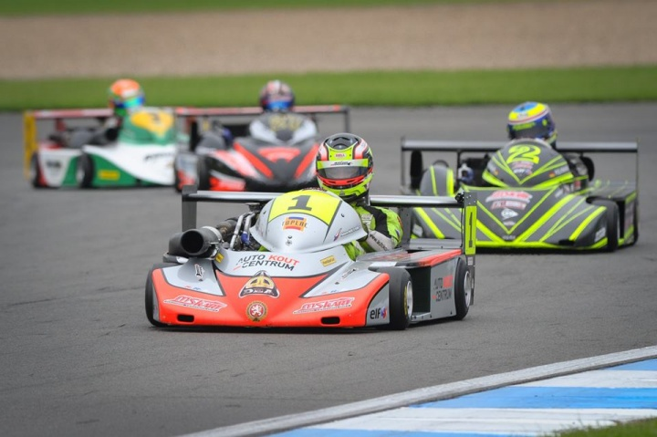 Kout takes a decisive advantage at Donington