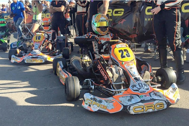 CRG, PAOLO DE CONTO AND DARREN ELLIOTT  TRIUMPH IN MEXICO