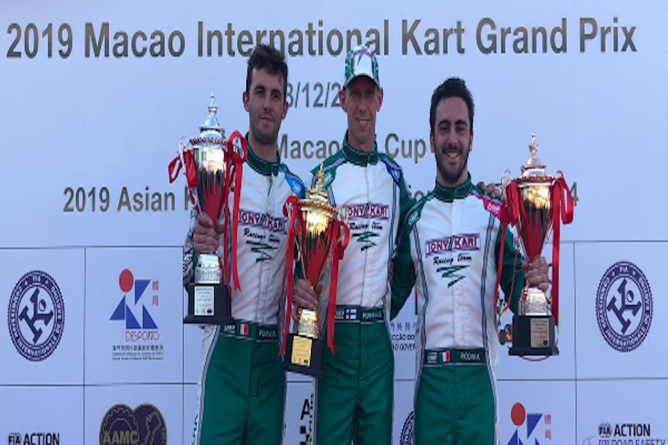 Tony Kart rules over Macao.