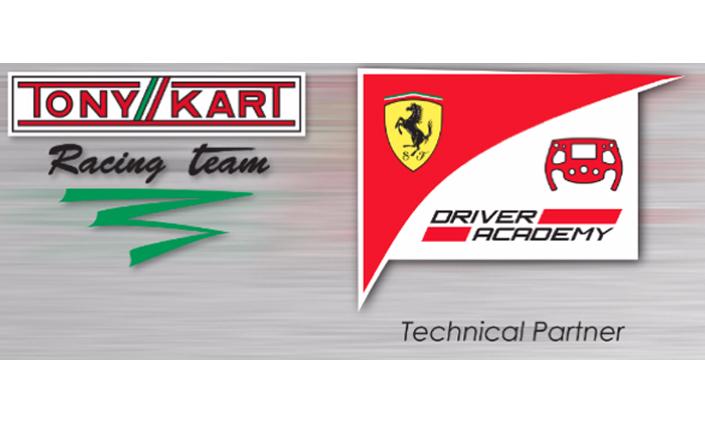 Tony Kart Racing Team is Ferrari Driver Academy's Technical Partner