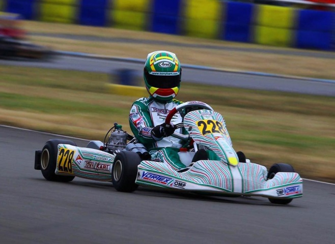 Tony Kart storms the fourth and penultimate OK & OKJ round in FInland