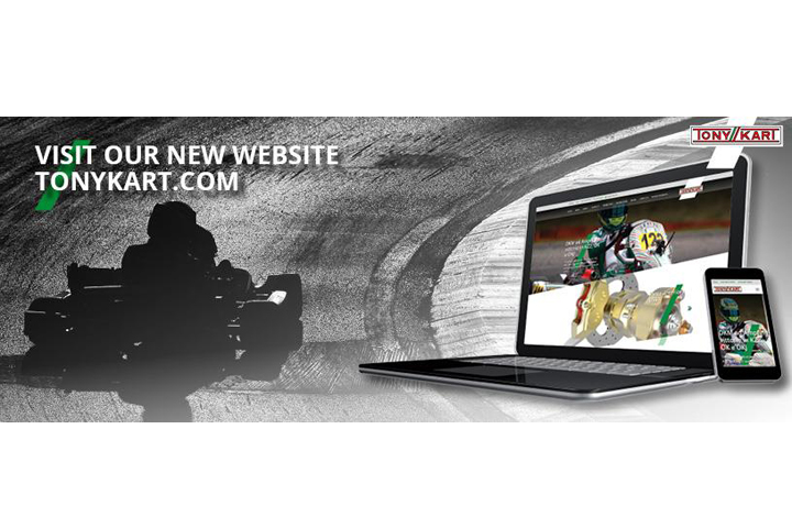 The new TONYKART.COM website is now online