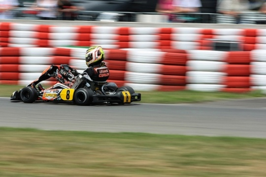 CRG close to the podium with Lennox in Wackersdorf
