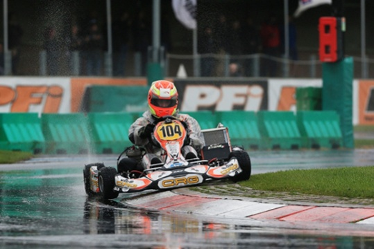 The last round of the European KF and KFJ Championships in England at the PFI circuit