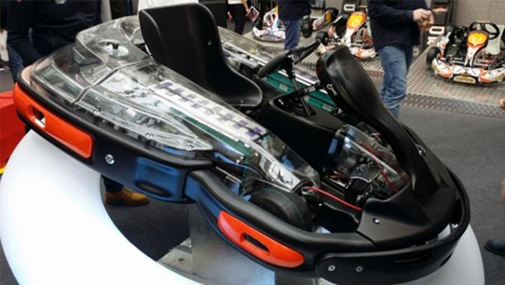 CRG Presents The New E-Drenaline  Electric Kart