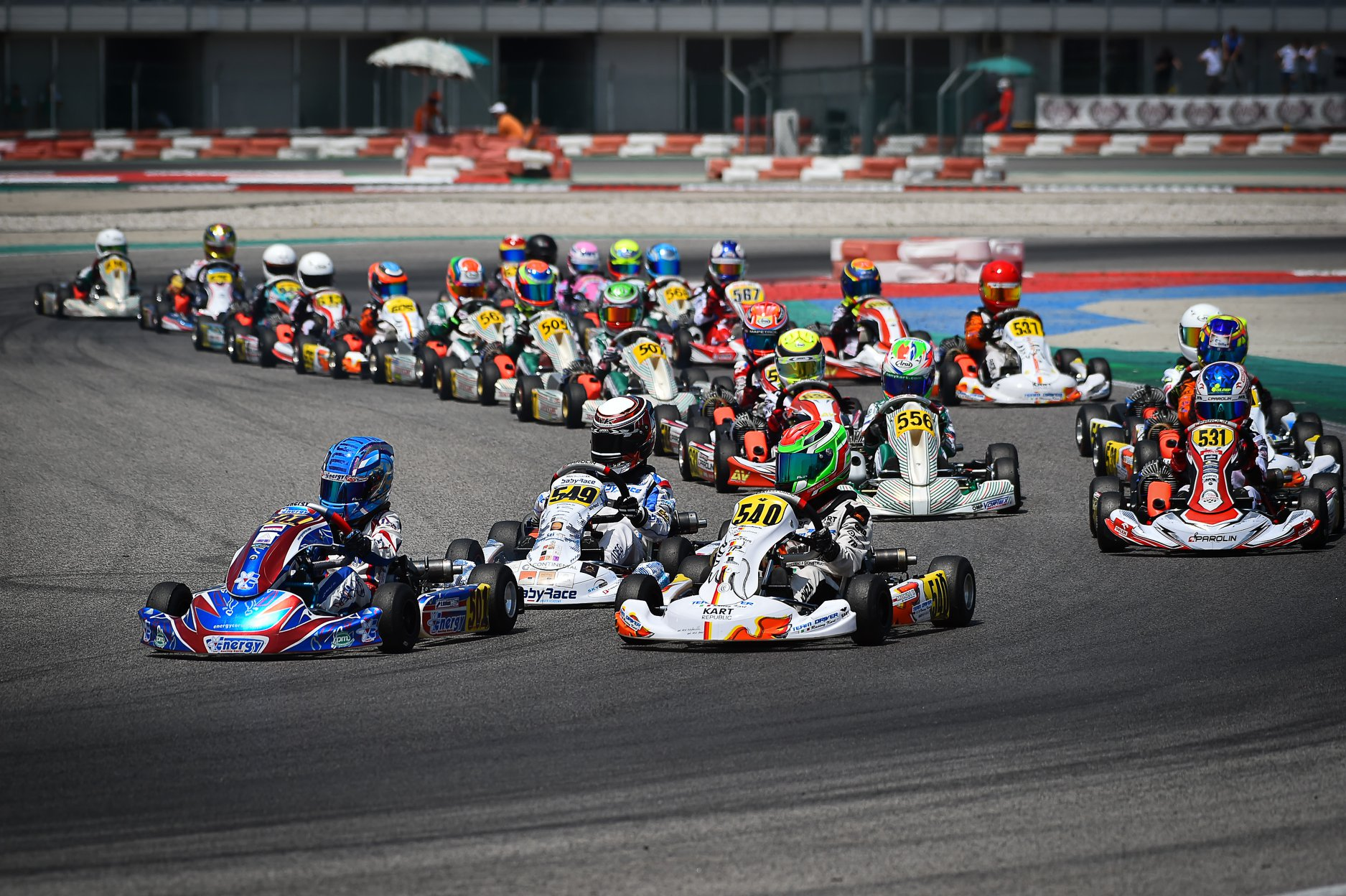 WSK Super Master Series - Finals round 3