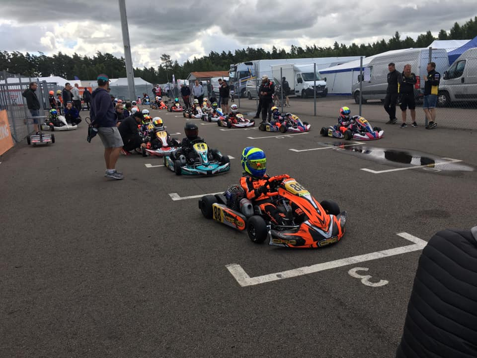 Scott Lindblom starts the Swedish Championship