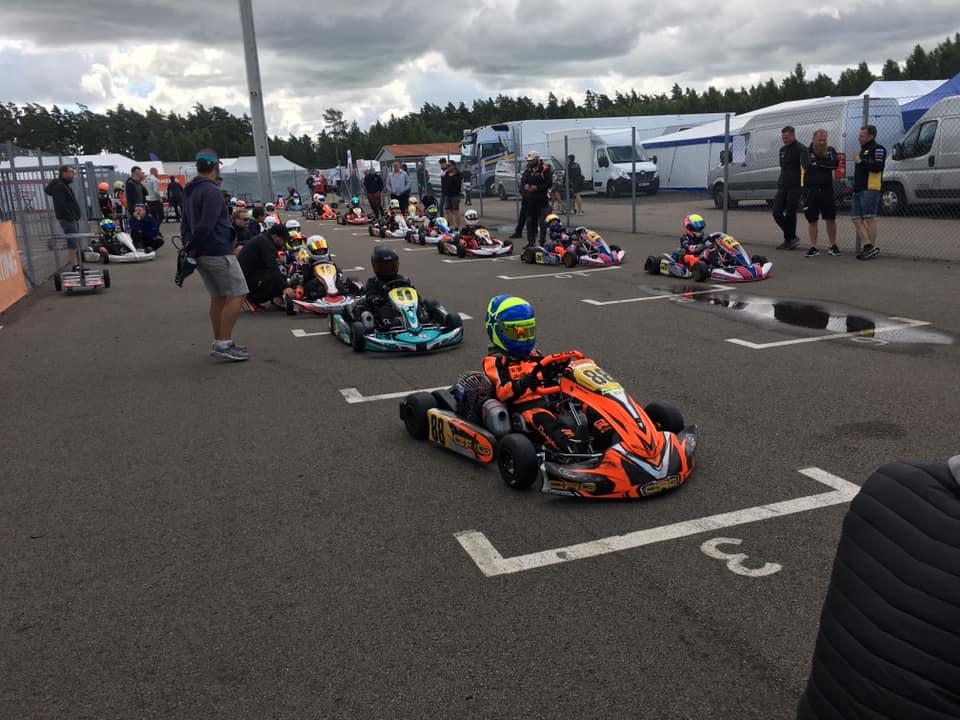 Scott Lindblom starts the Swedish Championship