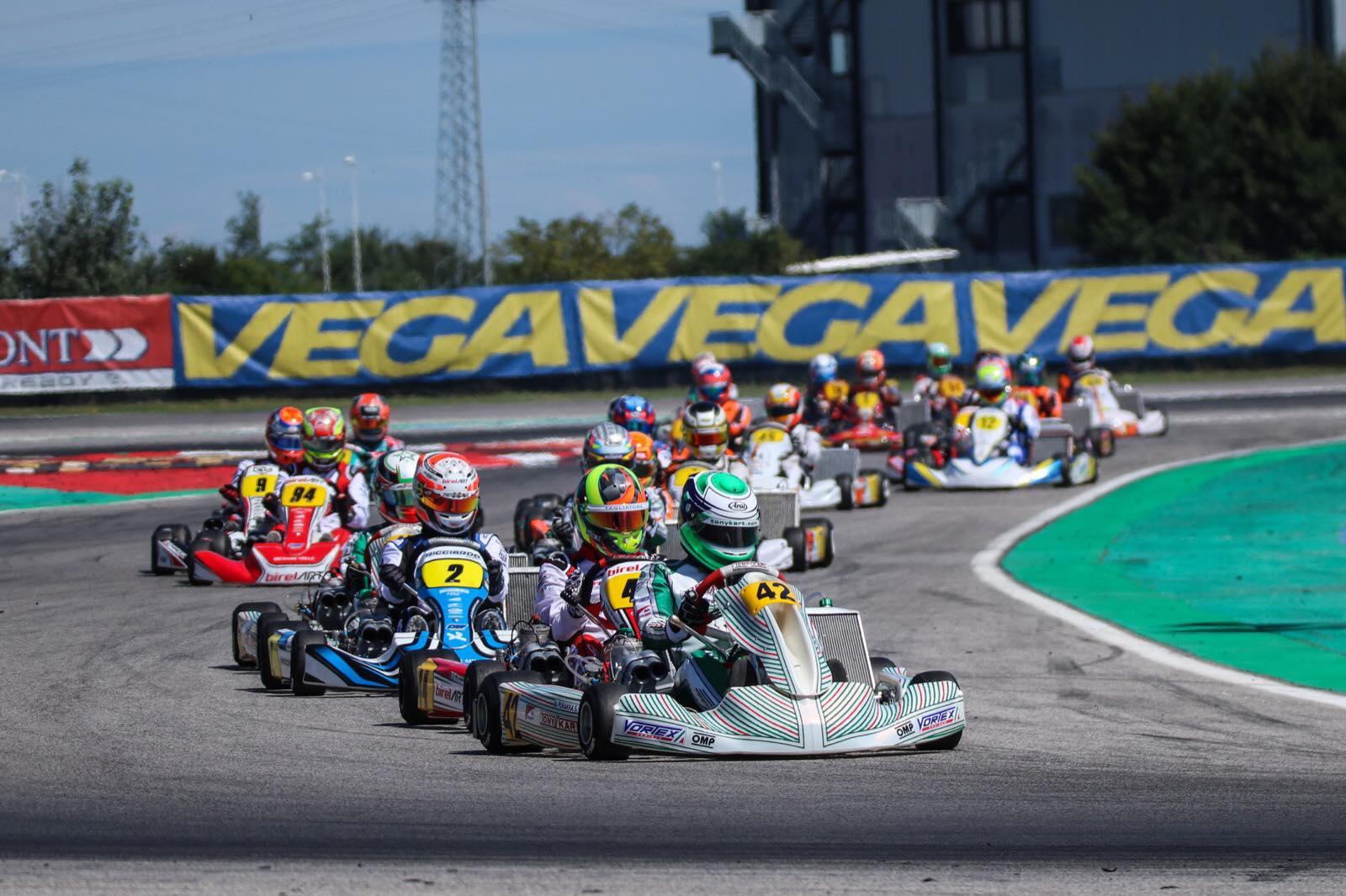 FIA Karting European Championship, Adria - Heats