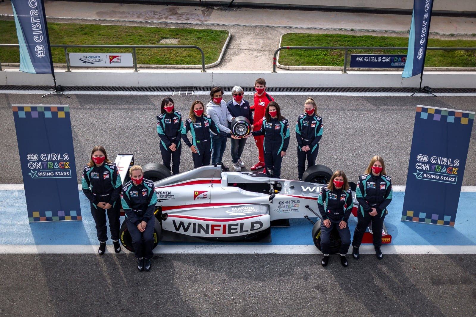 Final stage of the FIA Girls on Track - Rising Stars programme underway in Maranello 10-13 November 2020