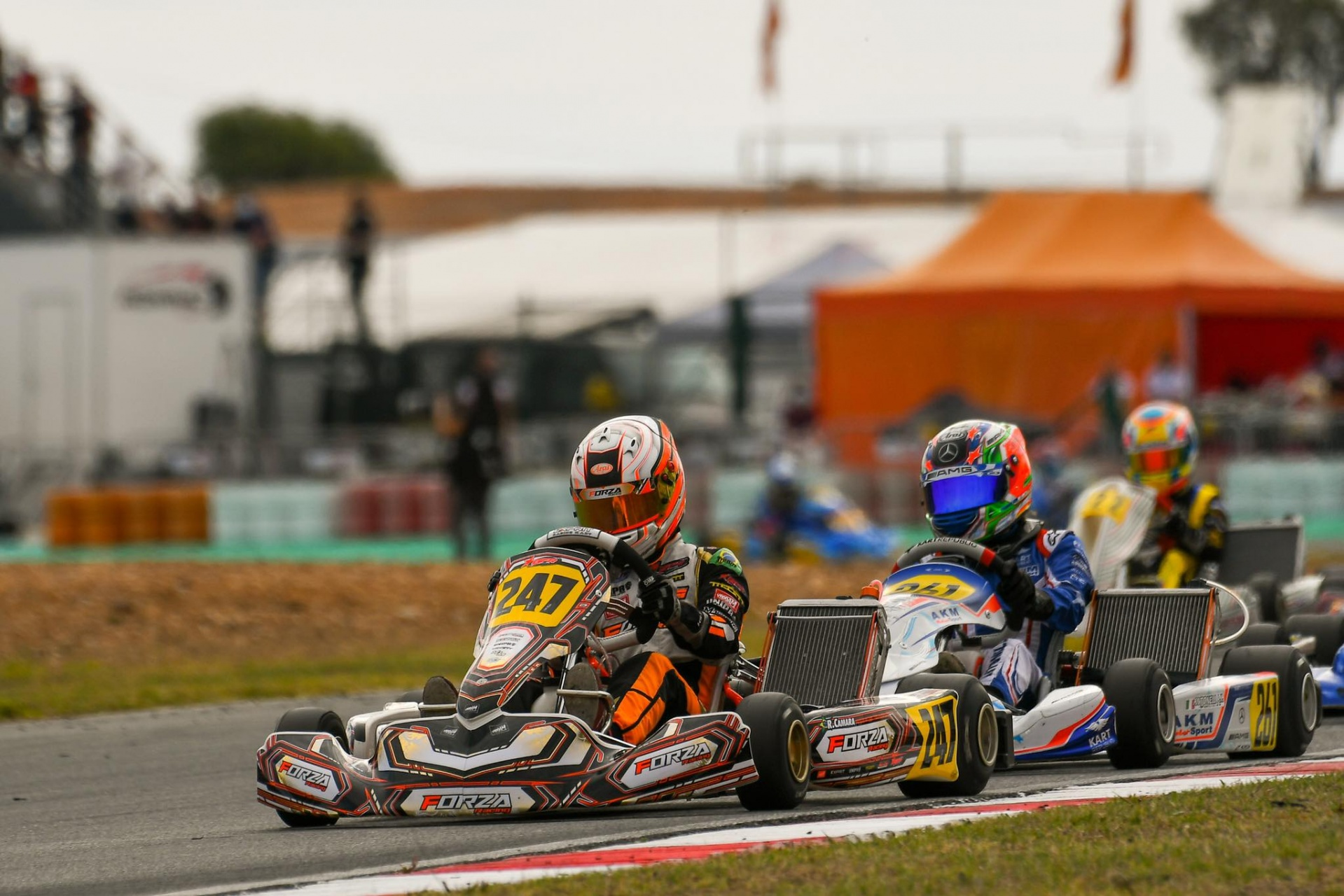 Camara in third place in the Champions Of The Future by RGMMC