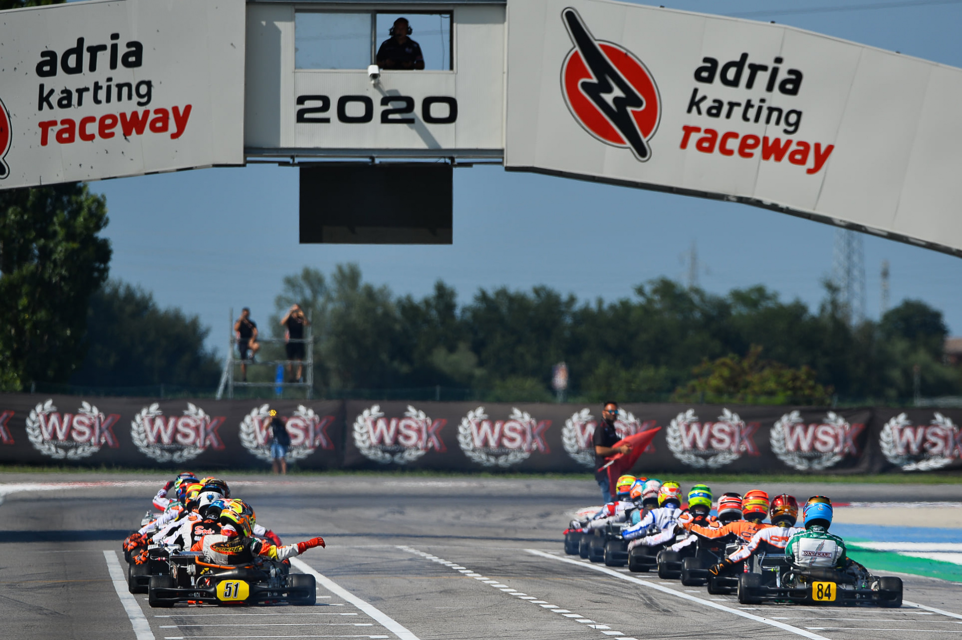 The WSK season starts again from the Open Cup