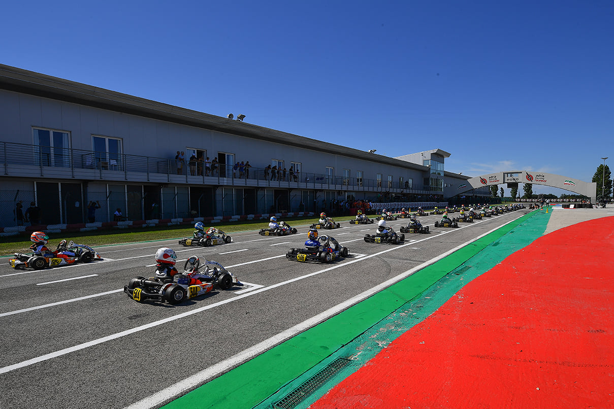 WSK Open Cup, Adria - Qualifications