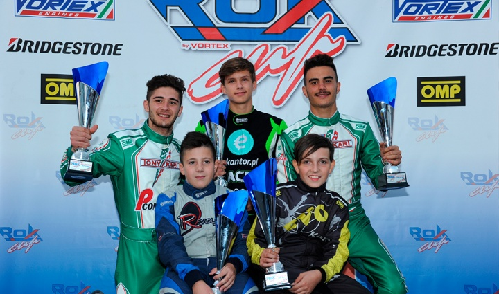 ROK Cup International Final – The polemen and winners of heats