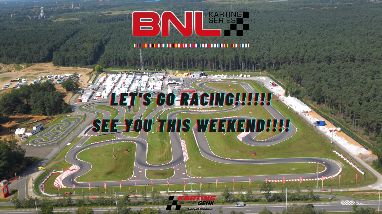 BNL Karting Series Kick-Off in Genk, now it's official!