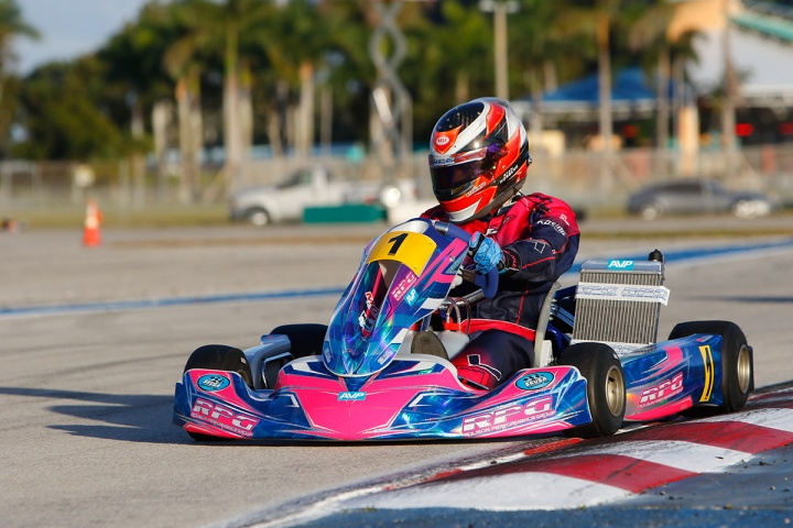 OTK branded chassis claim seven main event victories and 24 podium results at the opening round of the Skusa Winter Series