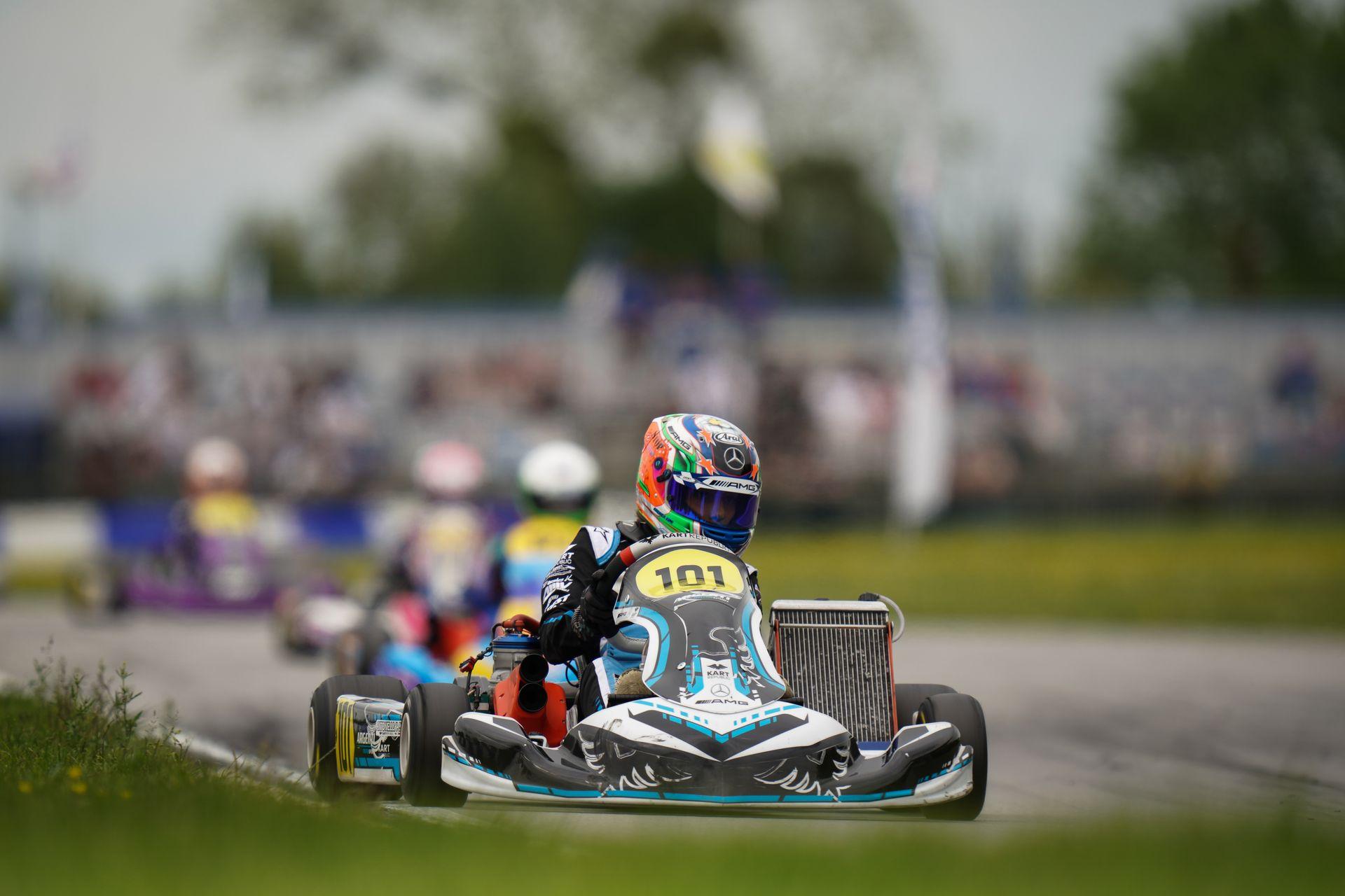FIA Karting European Championship, Essay - Ferreira and Antonelli win the finals