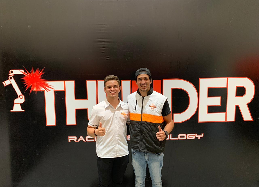 Brazilian champion Gaetano Di Mauro is the new Thunder Technology driver!