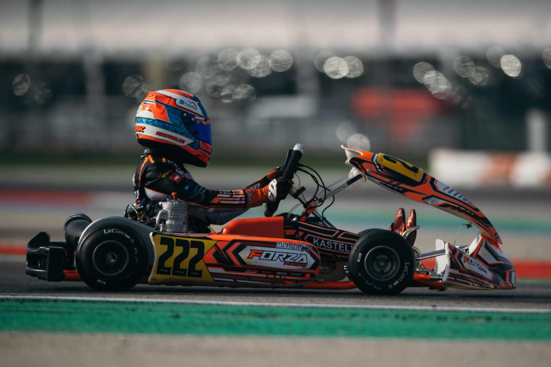 Constructive weekend for Mark Kastelic at Adria
