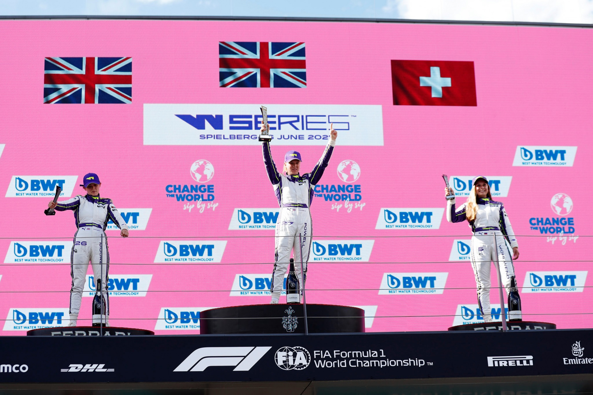 The W Series takes its place in the first weekend of the new season alongside F1