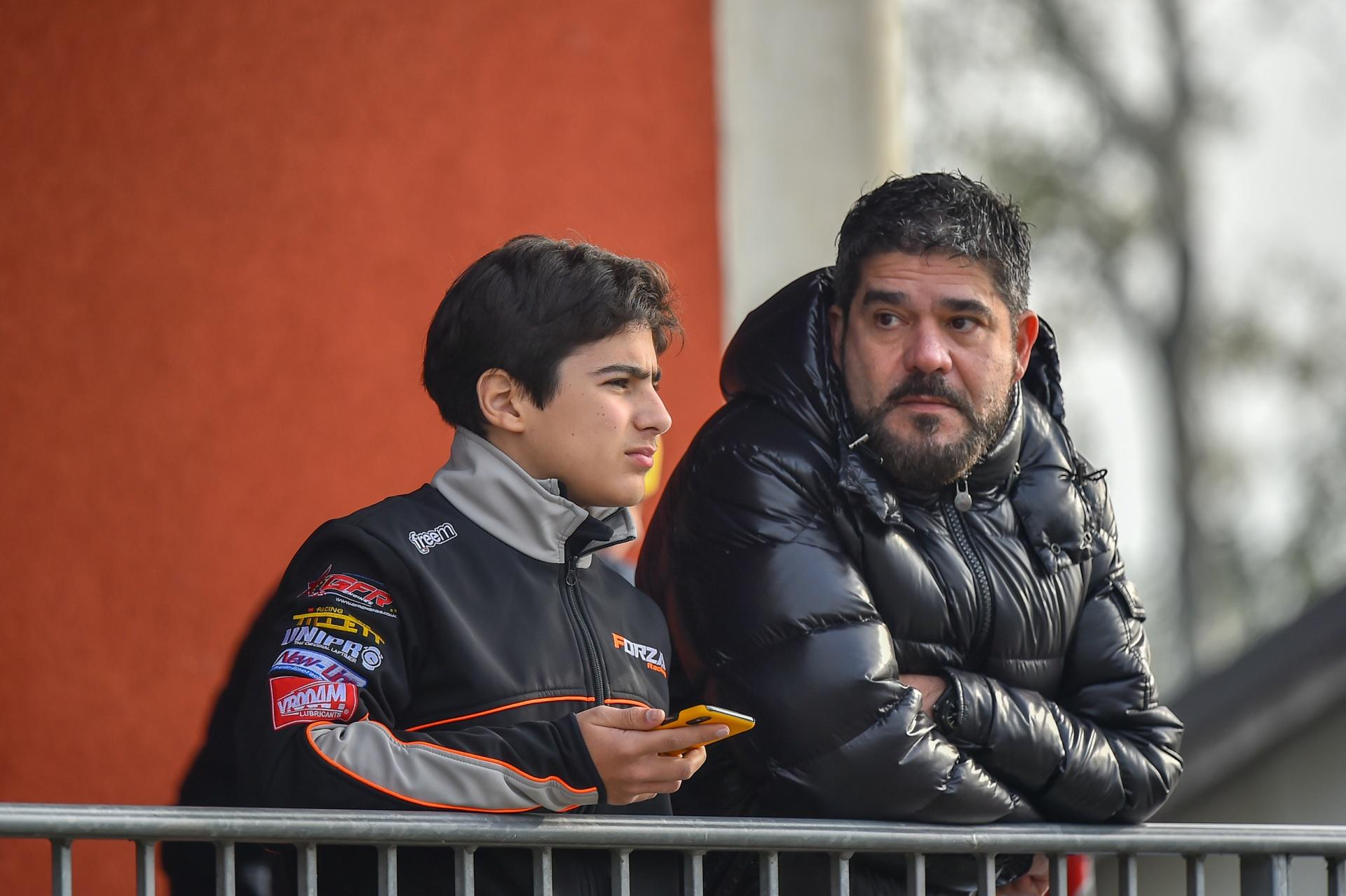 Rafael Camara and Forza Racing in attack-mode in Senior