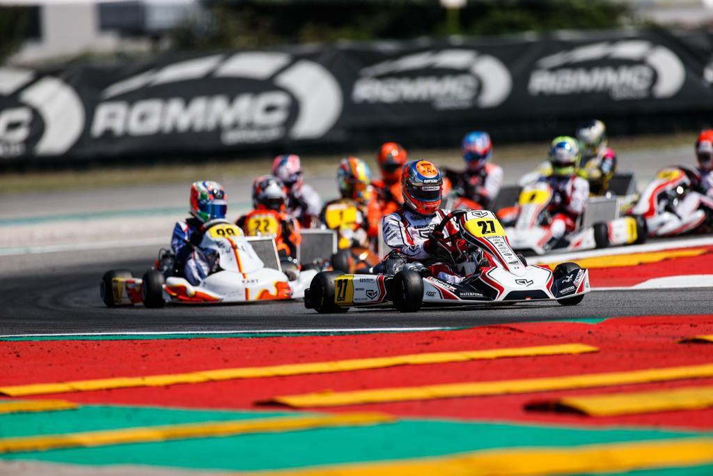 FIA Karting Euro, Adria - Heats, Viganò and Palomba ahead