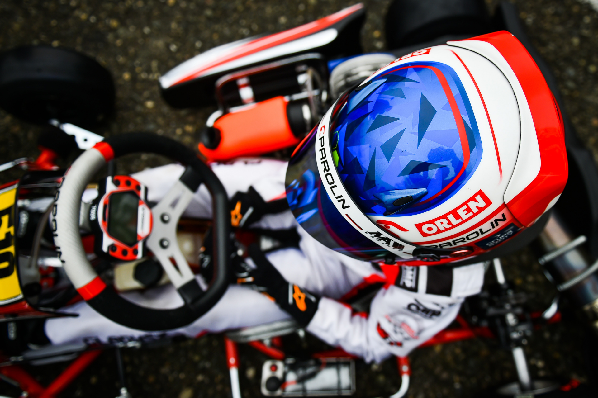 Maciej Gladysz will face the double weekend WSK in Adria!
