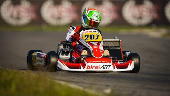 Great performance in OK with Coluccio in WSK at Sarno