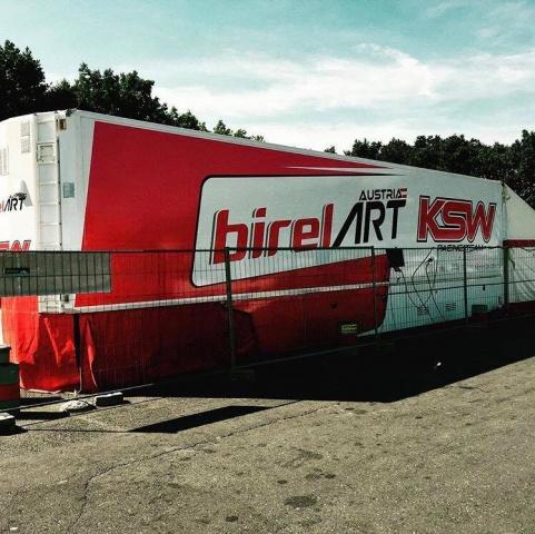 Bas Lammers is a new BirelArt Racing KSW driver