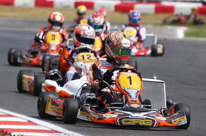 CRG in Genk for the challenge worth a season:  the KZ-KZ2 World Championship