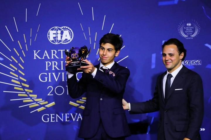 CRG drivers awarded in Geneva  for their results in the CIK-FIA season 2018