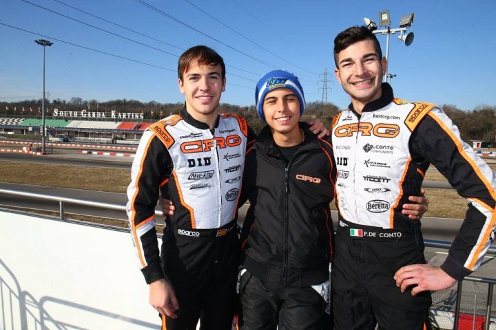 The CRG Racing Team season starts with the 24th Winter Cup