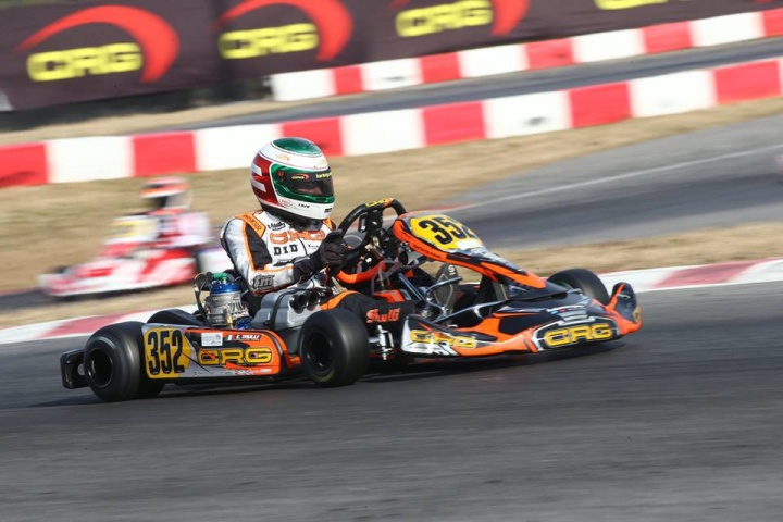 CRG continues its preparation for the 2019 season at the WSK Super Master