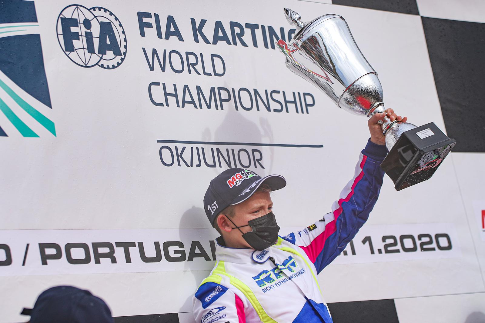 FIA Karting World Championship, Portimao - Bradshaw and Slater Champions, fear in OK