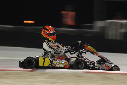 CRG, SEASON 2014 AT THE STARTING BLOCKS.  THE FIRST ROUND IN  SPAIN'S ROTAX WINTER CUP