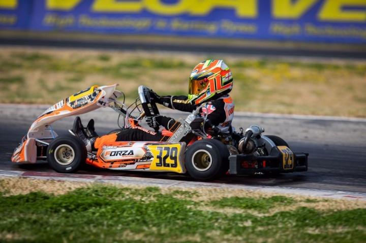 WSK Super Master Series, La Conca - Qualifying