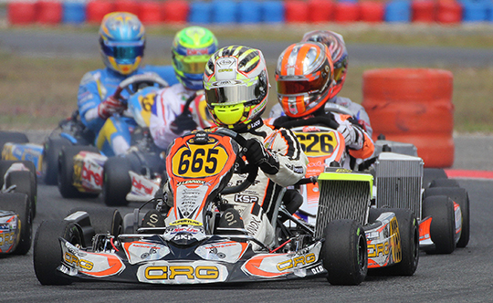 SPECTACULAR LENNOX IN SALBRIS AT THE ROTAX EURO CHALLENGE IN DD2