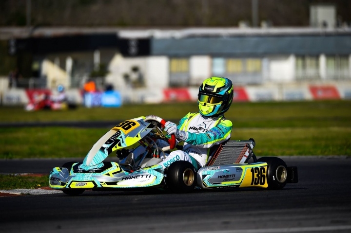 Manetti Motorsport is back on track for the first round of the WSK Euro Series